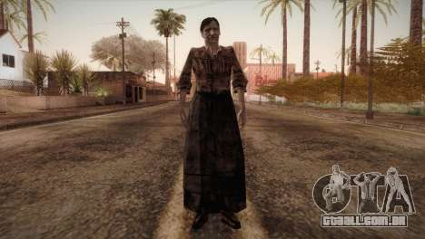RE4 Isabel without Kerchief para GTA San Andreas segunda tela