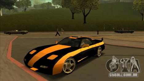 ZR-350 Road King para GTA San Andreas vista traseira