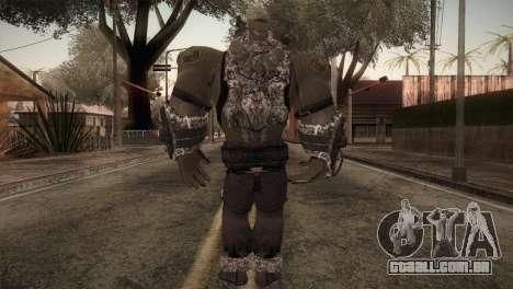 Bane Boss (Batman Arkham City) para GTA San Andreas terceira tela