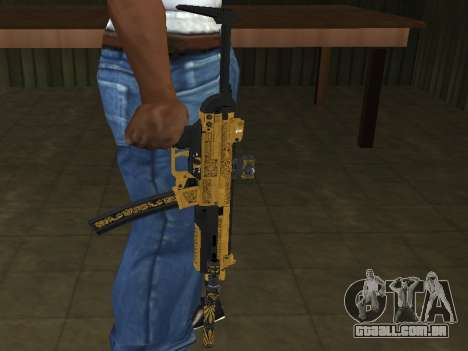 GTA 5 SMG para GTA San Andreas segunda tela