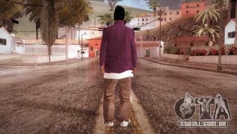 HD ballas3 Retextured para GTA San Andreas terceira tela