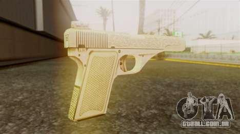 Vintage Pistol GTA 5 para GTA San Andreas segunda tela