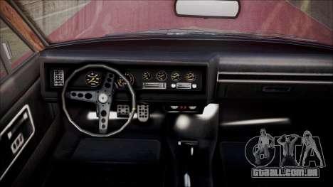 GTA 5 Vapid Chino para GTA San Andreas traseira esquerda vista