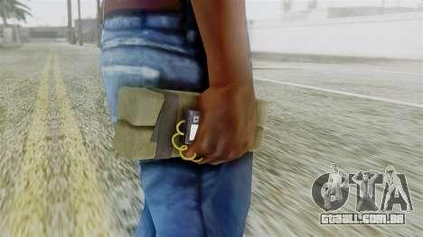 GTA 5 Sticky Bomb para GTA San Andreas terceira tela