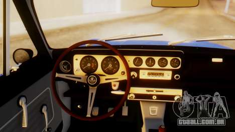Lotus Cortina 1966 para GTA San Andreas traseira esquerda vista