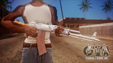 AK-47 v4 from Battlefield Hardline para GTA San Andreas terceira tela