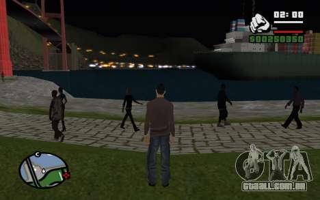 Noite eterna para GTA San Andreas terceira tela