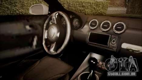Audi TT RS 2011 v3 para GTA San Andreas vista direita