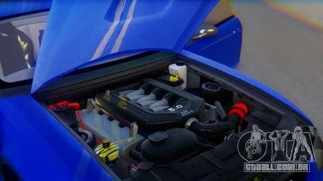 Ford Mustang 1999 Clean para GTA San Andreas interior