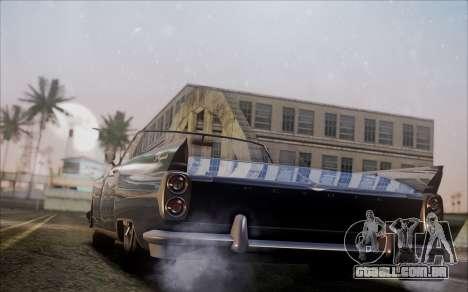 GTA 5 Vapid Peyote para GTA San Andreas esquerda vista