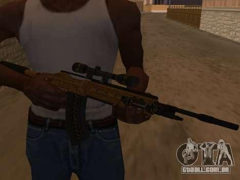Marksman Rifle para GTA San Andreas segunda tela