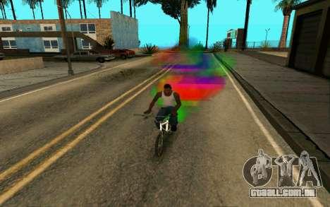 Bike Smoke para GTA San Andreas segunda tela