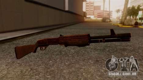 BlueSteel Shotgun para GTA San Andreas