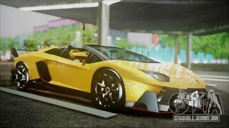 Lamborghini Veneno LP700-4 AVSM Roadster Version para GTA San Andreas esquerda vista