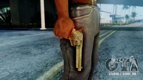 Red Dead Redemption Revolver Cattleman Sergio para GTA San Andreas terceira tela