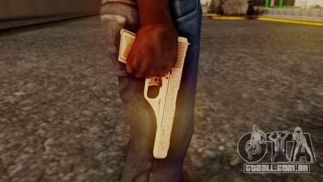 Vintage Pistol GTA 5 para GTA San Andreas terceira tela