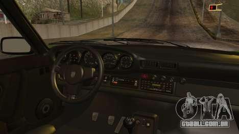 Porsche 911 Turbo (930) 1985 Kit A PJ para GTA San Andreas vista direita