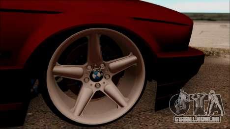 BMW M5 Touring E34 para GTA San Andreas vista traseira