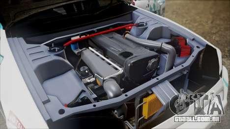 Nissan Skyline ER34 GT-Shop para GTA San Andreas vista traseira