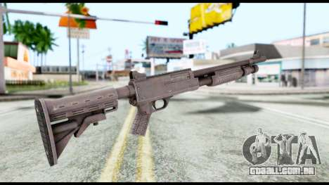 Combat Shotgun from Resident Evil 6 para GTA San Andreas segunda tela