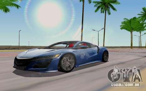 Novel ENB para GTA San Andreas