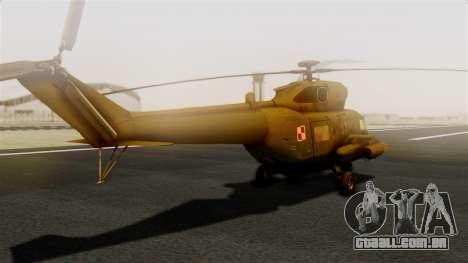 PZL W-3PL Grouse para GTA San Andreas esquerda vista
