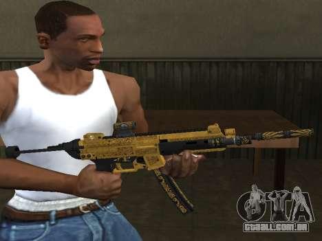 GTA 5 SMG para GTA San Andreas