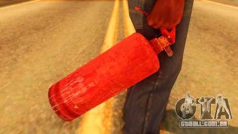 Atmosphere Fire Extinguisher para GTA San Andreas terceira tela