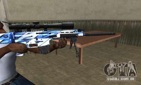 Mount Sniper Rifle para GTA San Andreas segunda tela