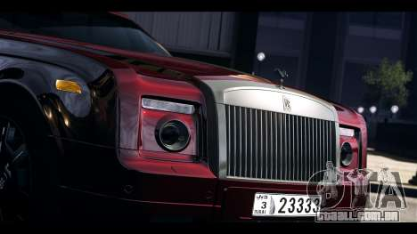 Rolls-Royce Phantom 2009 Coupe v1.0 para GTA 4 vista direita