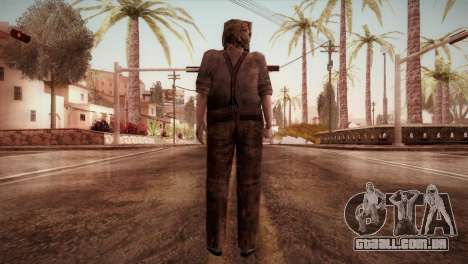 RE4 Dr. Salvador from Mercenaries para GTA San Andreas terceira tela