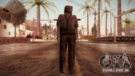 RE4 Dr. Salvador from Mercenaries para GTA San Andreas terceira tela