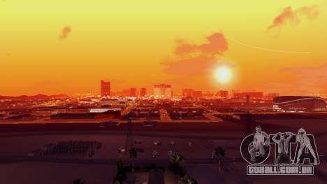 Skybox Real Stars and Clouds v2 para GTA San Andreas por diante tela