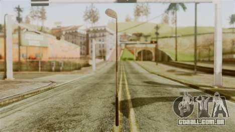 Golf Club from Silent Hill Downpour para GTA San Andreas