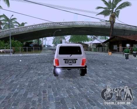 VAZ 2121 Niva 4x4 para GTA San Andreas vista direita