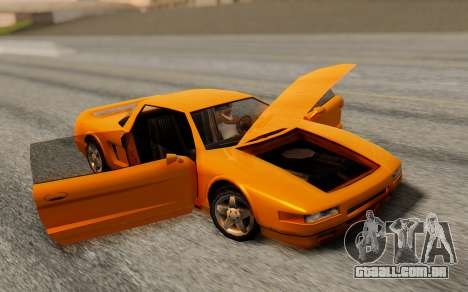 Infernus Hamann Edition Backup Standart para GTA San Andreas traseira esquerda vista