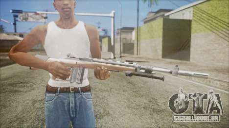 M14 from Black Ops para GTA San Andreas terceira tela