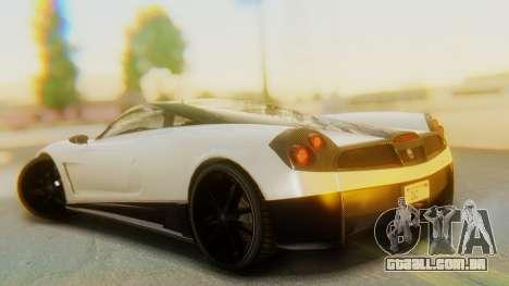 GTA 5 Pegassi Osiris IVF para GTA San Andreas esquerda vista