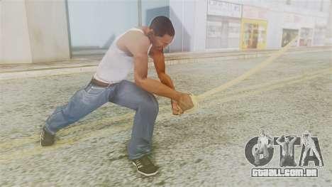 Red Dead Redemption Katana para GTA San Andreas terceira tela