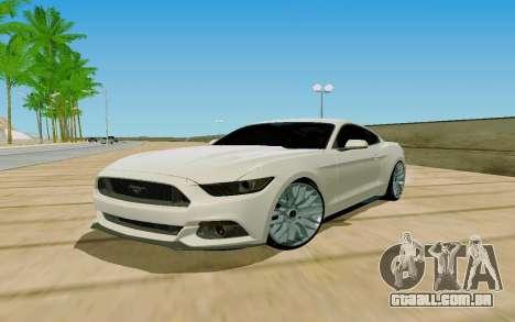 Novel ENB para GTA San Andreas segunda tela
