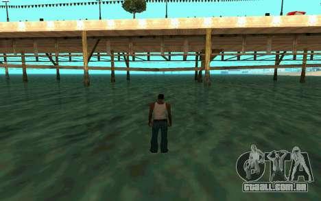 Andando sobre as águas para GTA San Andreas