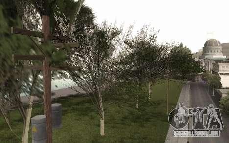 Uma cópia do original árvores para GTA San Andreas