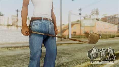 Golf Club from Silent Hill Downpour para GTA San Andreas segunda tela
