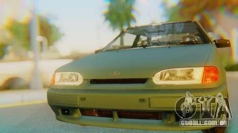 VAZ 2113 Stoke para GTA San Andreas vista traseira