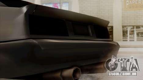 Buffalo New Edition para GTA San Andreas vista direita