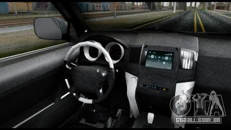 Lexus GX460 para GTA San Andreas traseira esquerda vista