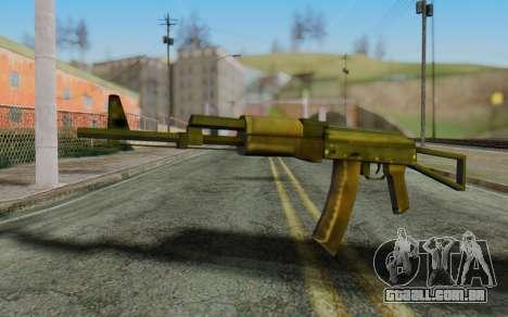 AK-74P para GTA San Andreas