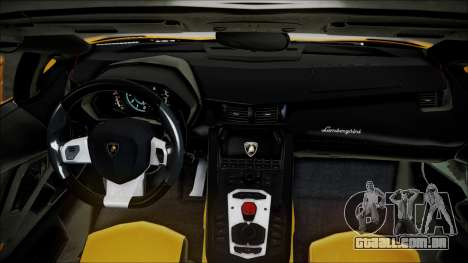 Lamborghini Veneno LP700-4 AVSM Roadster Version para GTA San Andreas vista traseira