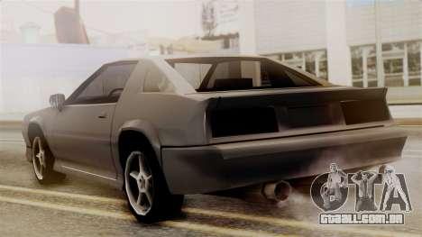 Buffalo New Edition para GTA San Andreas esquerda vista