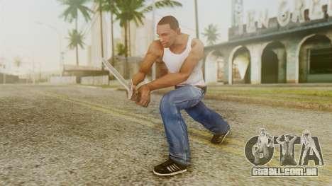 Iron Dagger para GTA San Andreas terceira tela